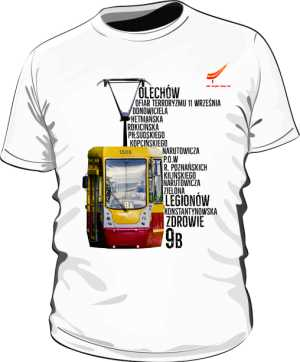 Koszulka męska trasa 9B