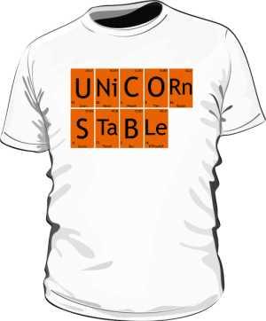Koszulka męska CHEMICAL UNICORN STABLE