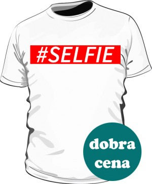 Selfie Shirt Man White