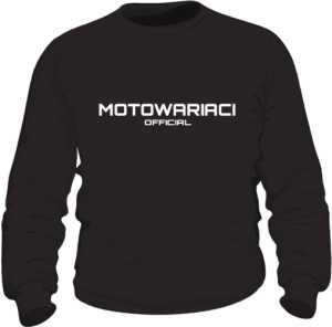 Motowariaci Official bluza męska black