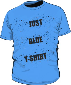 Just blue T Shirt