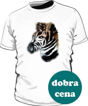 Zebra Biała Tshirt