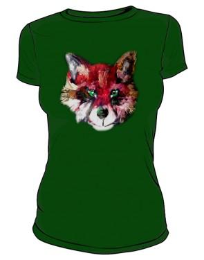 Lis Zielony Tshirt
