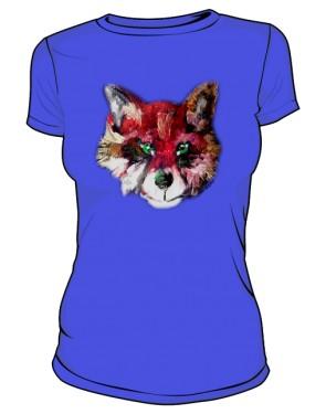 Lis niebieski Tshirt