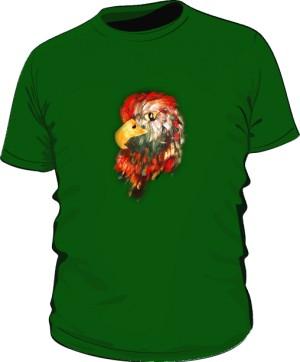 Orzeł Zielony Tshirt