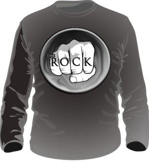 Koszulka Longsleeve męska THE ROCK