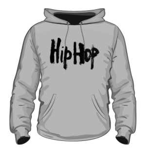 Bluza z Kapturem  HipHop
