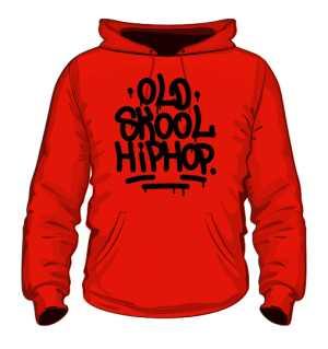 Bluza z kapturem Old Skool Hiphop