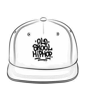 Czapka Old Skool HipHop