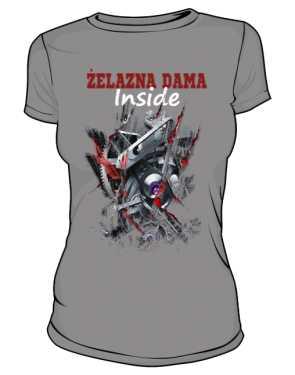 Żelazna Dama koszulka  damska