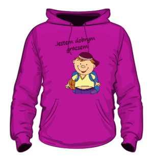 Bluza dziecięca szkolna różowa