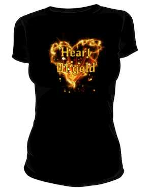 Heart of Gold koszulka damska