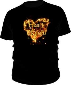 Heart of Gold koszulka męska
