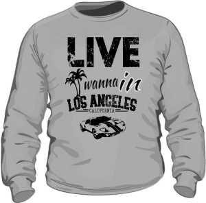 Bluza Szara Męska California Life