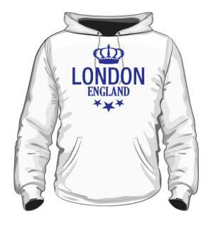 Bluza Biała  Męska LONDON