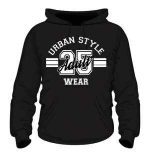 Bluza Męska Urban Style Wear czarna