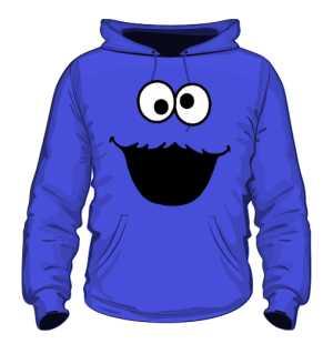 Ciasteczkowy Potwór Bluza Niebieska