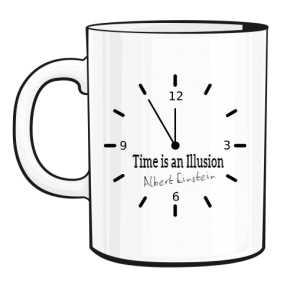 Zegar Kubek świadomego
