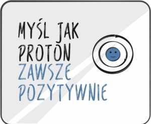 Podkładka pod mysz pozytywny Proton