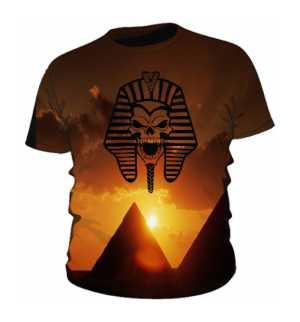 Faraon Czaszka Koszulka Męska