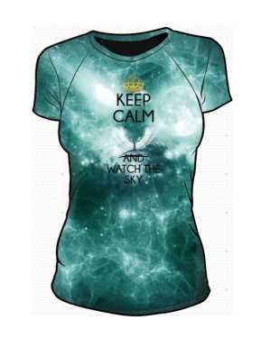 Kosmos Keep Calm Koszulka Damska