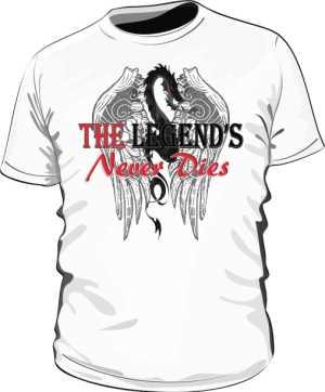 Dragon Legend Koszulka Męska EN