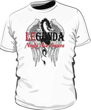 Dragon Legend Koszulka Męska PL