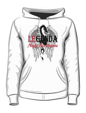 Dragon Legend Bluza Damska z kapturem PL