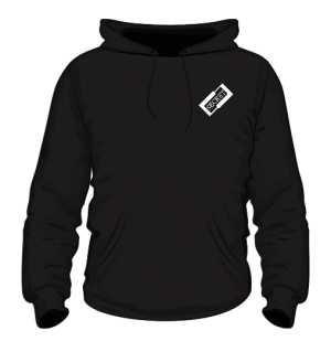 Czarna bluza z logiem