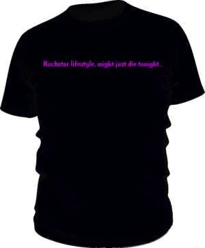 ROCKSTAR black TEE