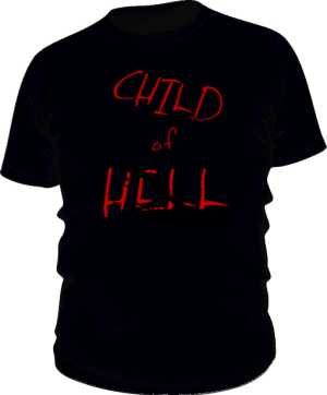 CHILD OF HELL black TEE