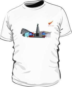 Koszulka Łódź tramwajowa