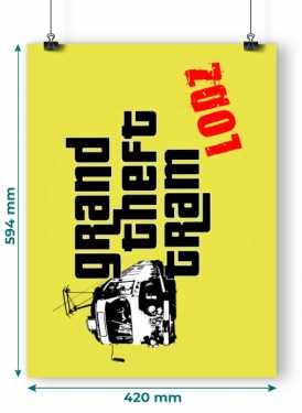 Plakat GTT Lodz