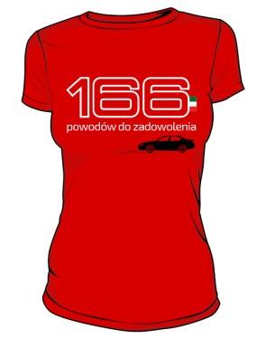166 powodów RED