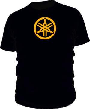 Koszulka slim Yamaha RYH Gold Premium