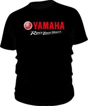 Koszulka classic Yamaha RYH Red