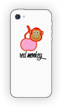 Red monkey etui