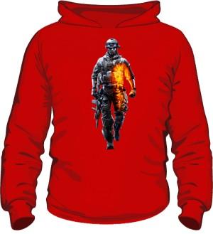 Bluza BATTLEFIELD czerwona