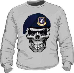 Bluza SKULL SOLDIER szara