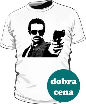 Koszulka GUNSHOT biała