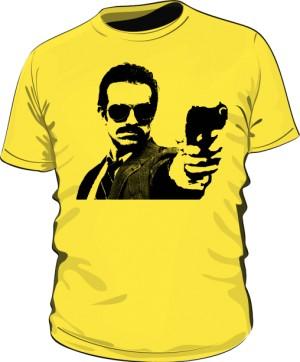 Koszulka GUNSHOT żółta