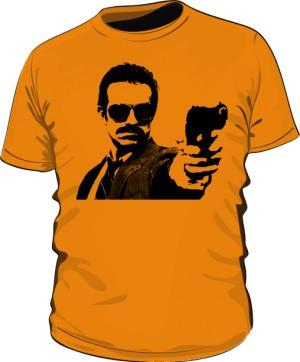 Koszulka GUNSHOT pomarańczowa