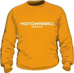 Motowariaci Official bluza męska orange