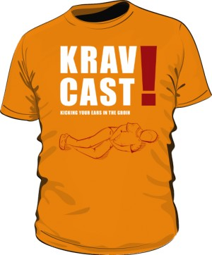 Koszulka Krav Maga pomarańczowa