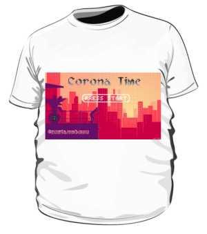 Corona Time 8bit Plus Size