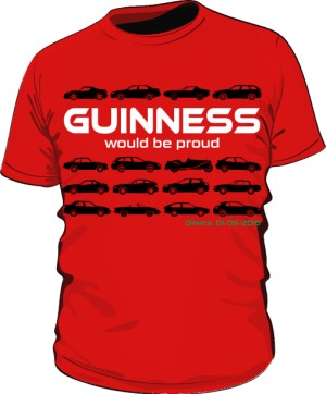 Guinness would be proud RED
