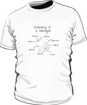 Anatomy of a Samoyed