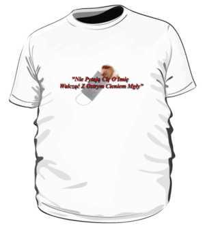 Koszulka Walczę z ostrym cieniem Mgły