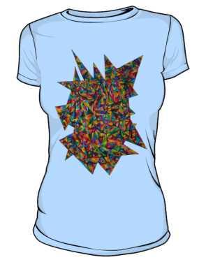 Koszulka z nadrukiem 622788