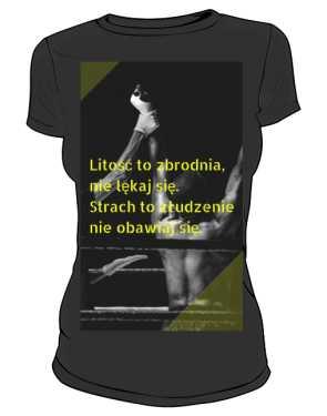 koszulka damska bez litości